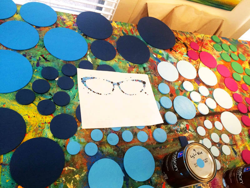 Behind the Scenes with rosemary pierce modern art