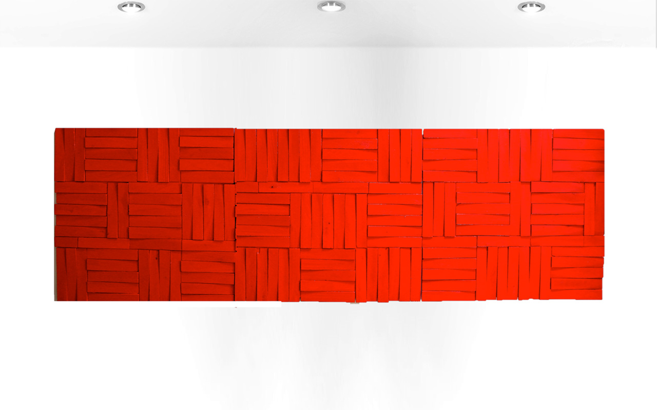 Puzzled-in-Red-Rosemary-Pierce-Modern-Art